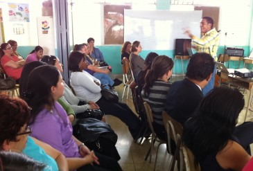Escuela Cedros y Barrio Pinto